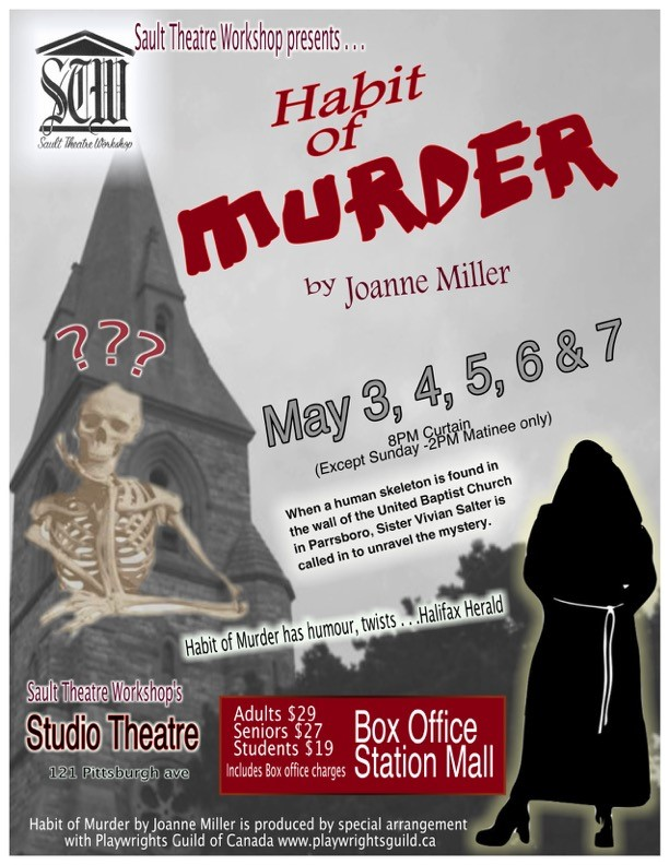 habit of murder poster