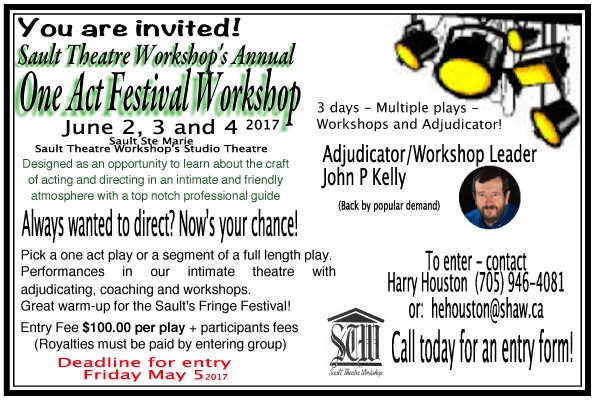 one act festival workshop